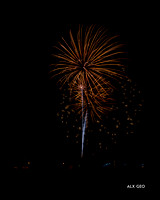 Fireworks, Coralville 2014